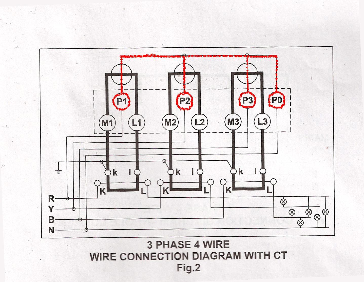 3 Phase Meter Wiring Diagram Another Blog About Single Socket Free Engine Electricity Kwh