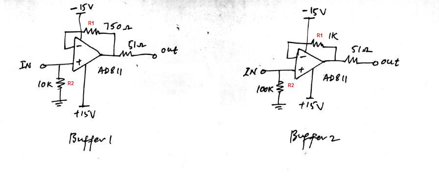 how this  buffer voltage follower  works