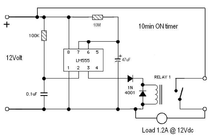 need to remove a relay from a timer circuit