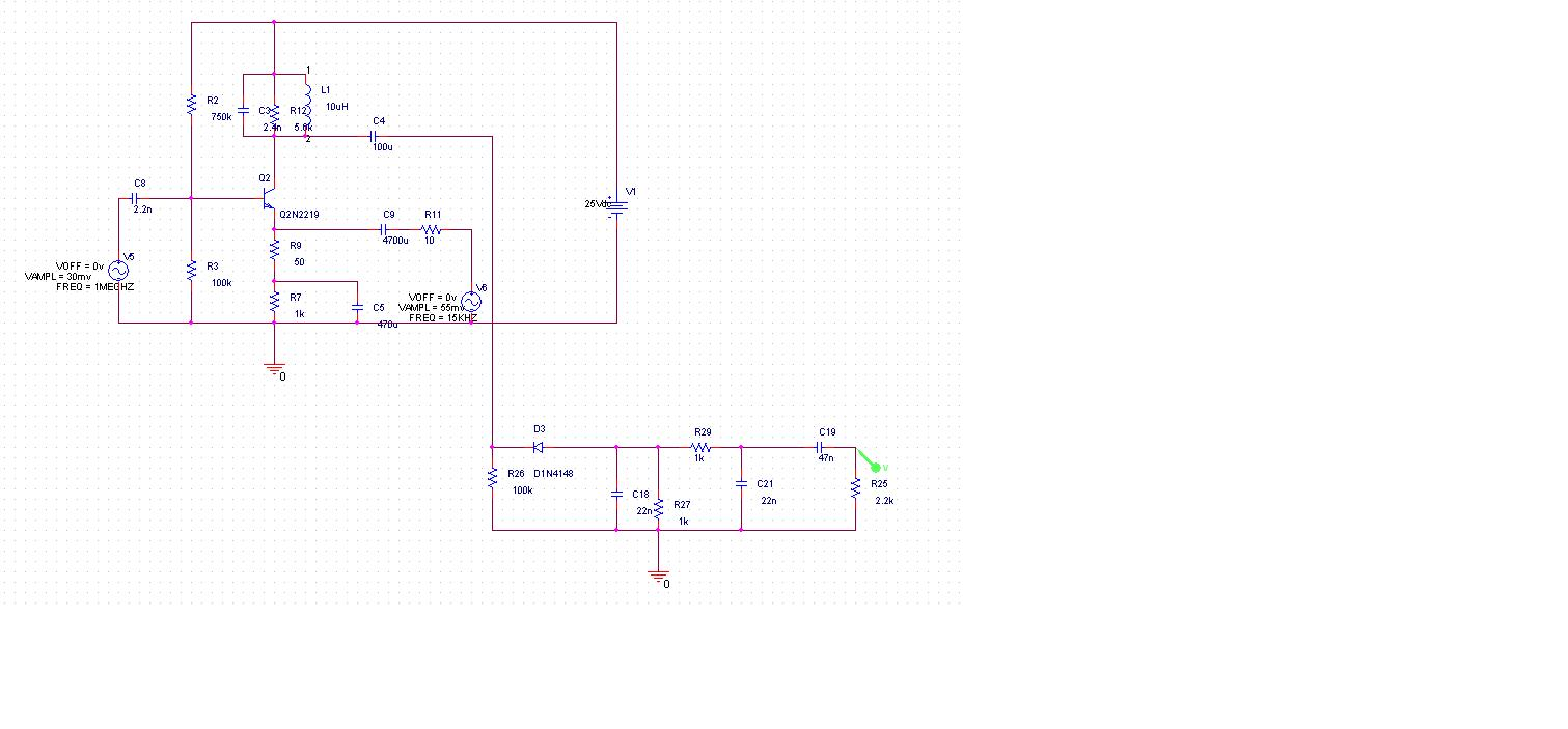 low level am transmitter circuit and little description