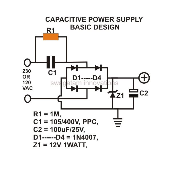 ac dc Power Supply Circuit dc Power Supply Circuit