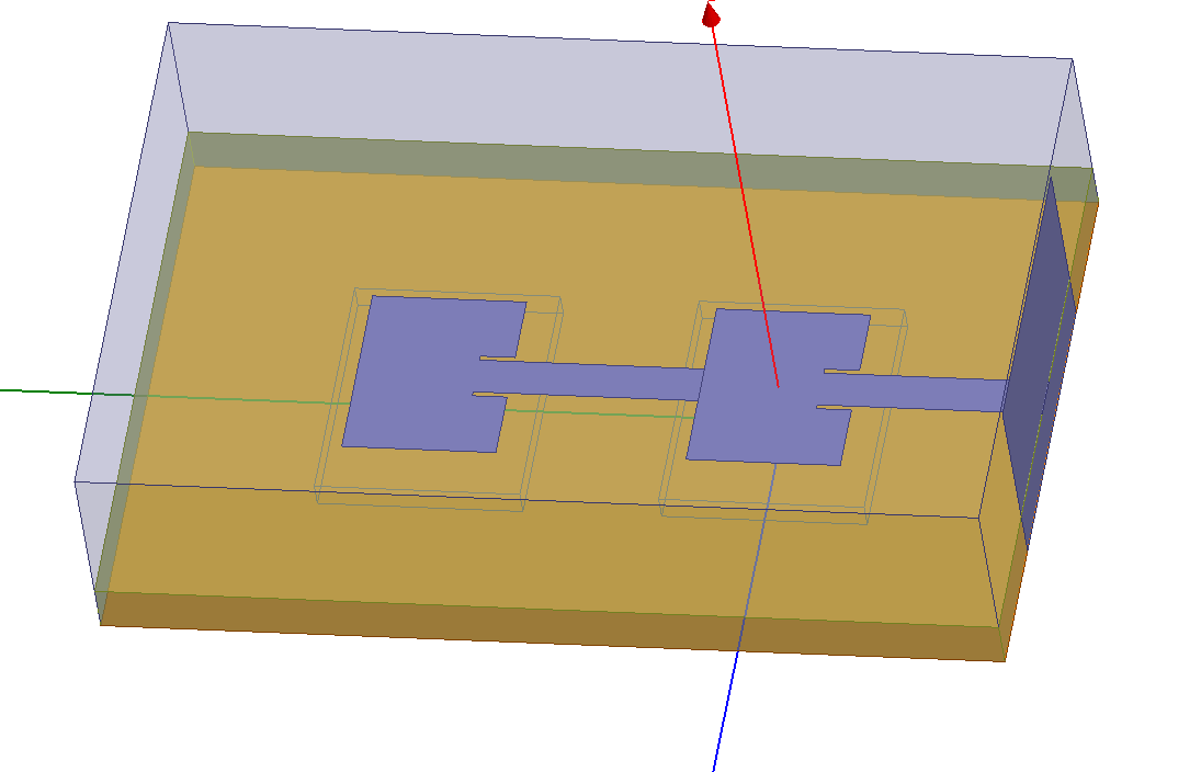 a simple design of microstrip patch