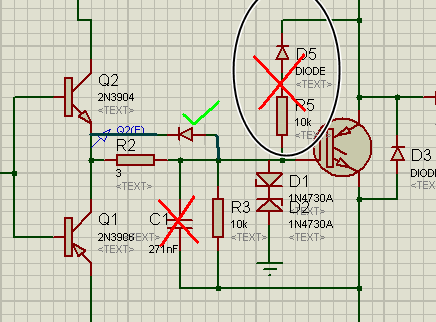 Gate driver and protection circuit for igbt d5 r5 is also wrong you can use a diode as shown below to fastly remove charge from the gate while swthing off the igbt regards ani ccuart Images