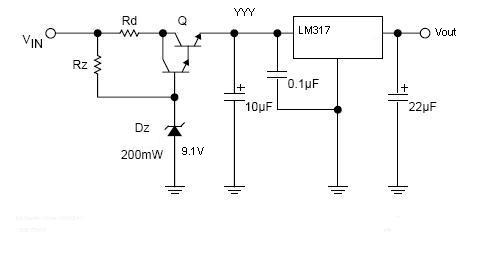 Electronics Forum High Input Voltage Problem