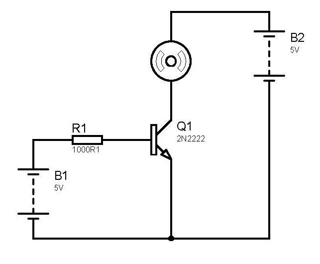Simple Dc Motor Control Doesn 39 T Work Without Led