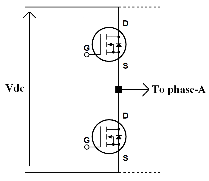 how does the mosfet intrinsic body diode cause short