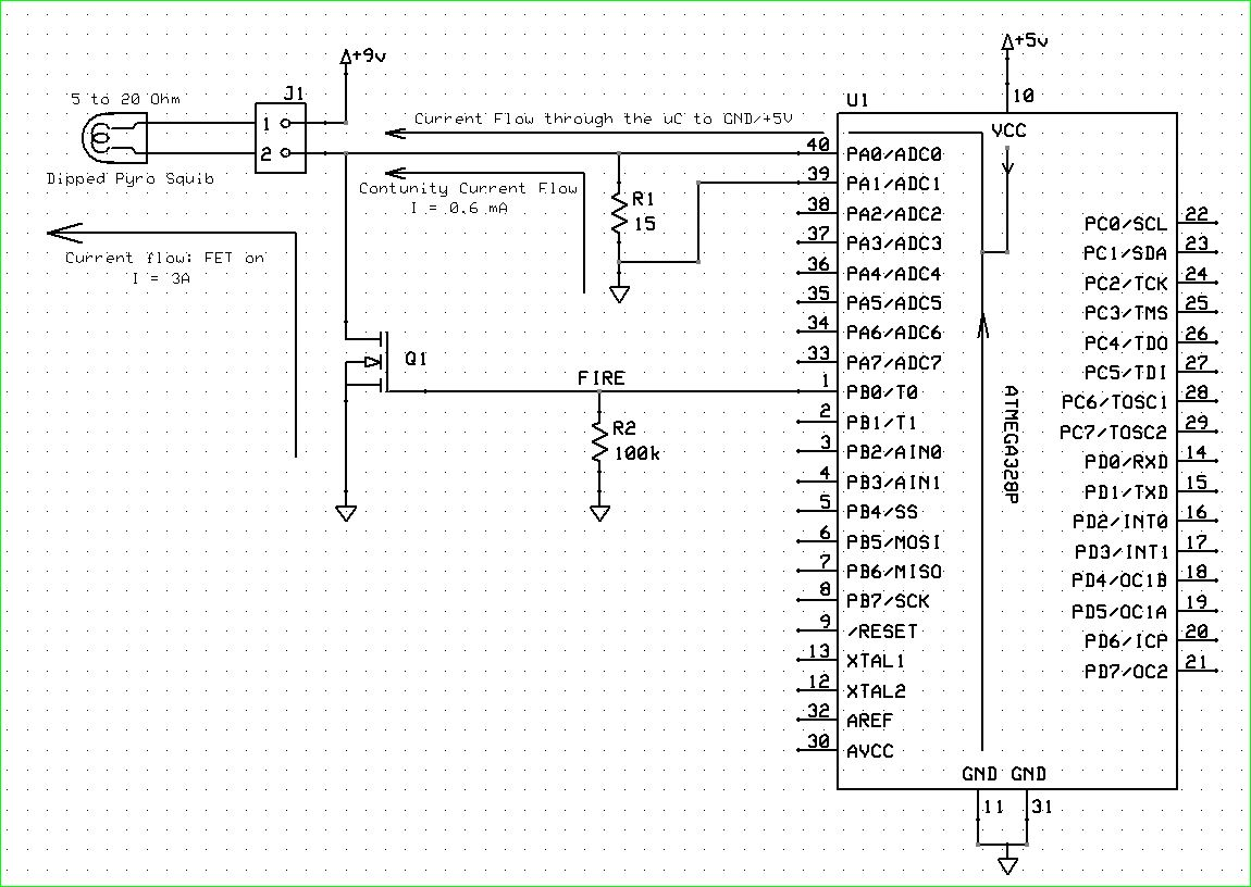ejection charge circuit question