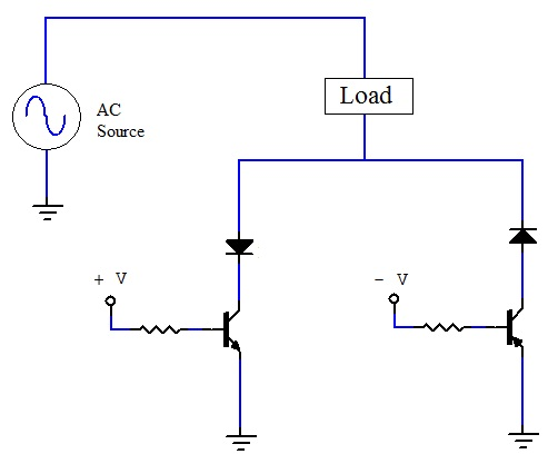 Idea for an electronic AC switch circuit