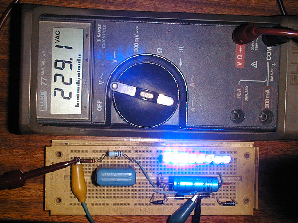 How To Drive 50 Leds On 220v Ac Without The Use Of A Transformer Led Circuit Diagram For Is 500 Mw Type That Can Withstand 5 Kv Dc Peak 250 Also Ok 1600 V