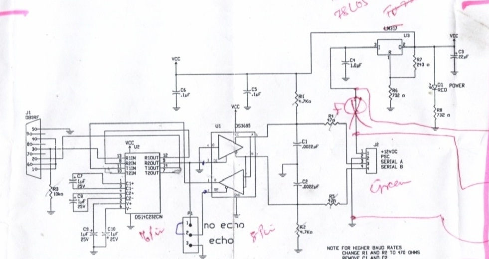How To Make A Working Rs232 Ttl Level Converter Using Max232