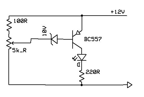 Problem with using PNP transistor BC557 and a LED
