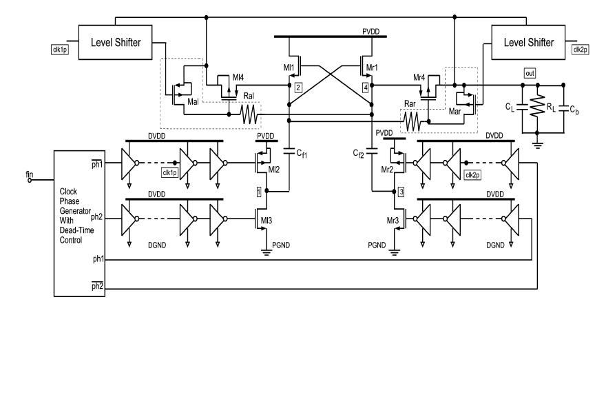 switched capacitor voltage doubler