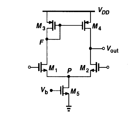 Active Load Differential Amplifier