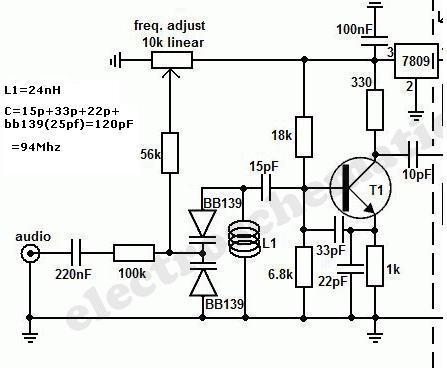Long Range Fm Transmitter Circuit together with Delay Circuits furthermore Using A Microphone With An Arduino further 26014523 Wideband Vhf Pre lifier additionally O. on fm transmitter schematic