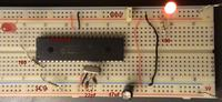 Led blink circuit with 16f877a microcontroller pdf