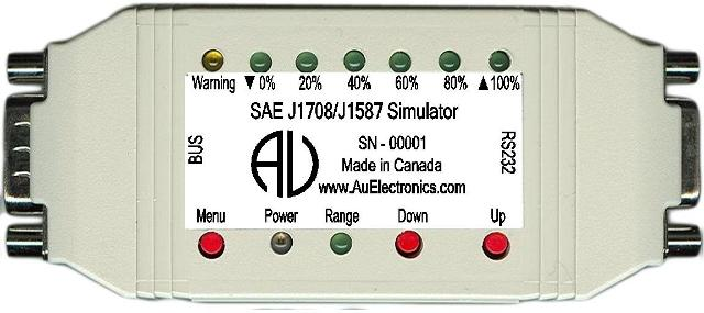PIC based CAN (SAE-J1939) simulator