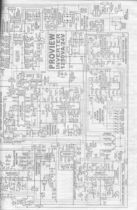 1000W 12V dc to 230V ac power schematic diagram