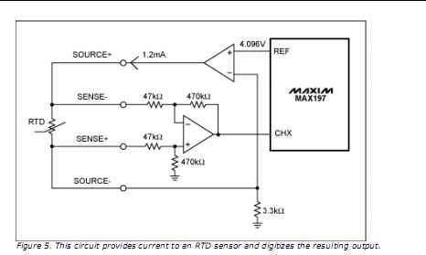 Temperature To Voltage Converter Circuit in addition Cant Get A Precise Reading With Pt100 Temperature Sensor moreover Temp 900 series industrial in addition Designing With Temperature Sensors Part Three RTDs besides Arduino Temperature Controlled Relay. on pt100 temperature sensor circuit diagram