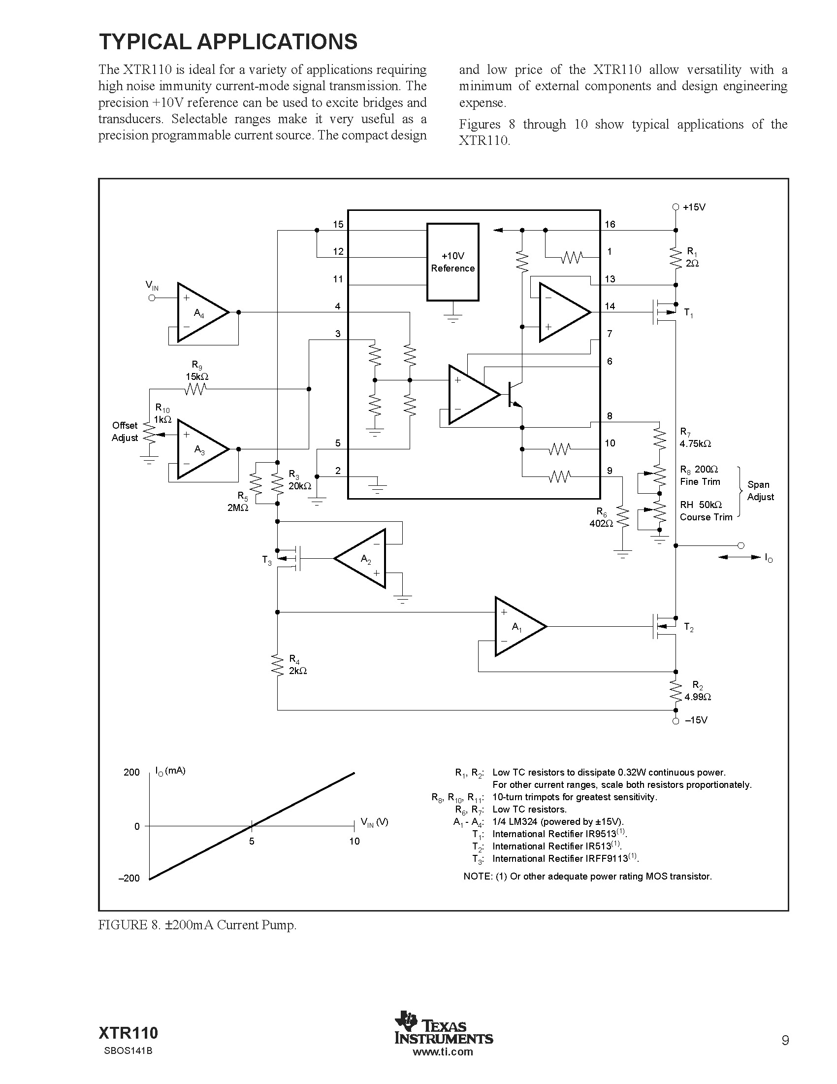 Variable Bidirectional Current Source Amp Injector Circuit Diagram Super I Think Drain And Of The T2 Must Be Exchanged With Each Other Whats Your View Point About That
